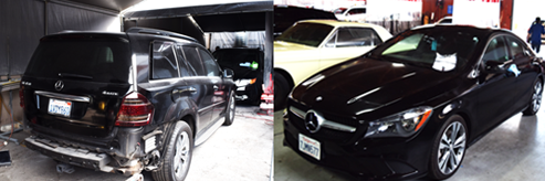 mercedes luxury auto body san diego