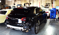 porsche luxury auto body san diego